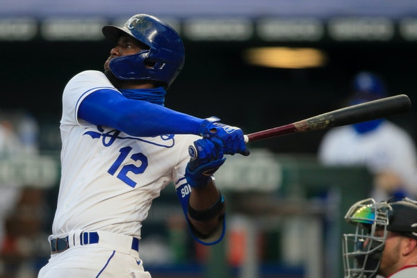 Kansas City slugger Jorge Soler hit his second home run in as many innings Saturday, a three-run shot off the Twins' Cody Stashak in the fourth inni