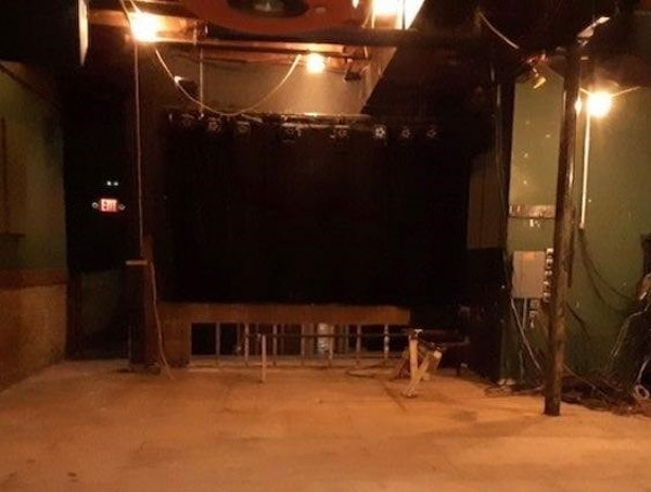 Photos from inside the Turf Club this past week show the demolition work happening inside the popular live music venue.