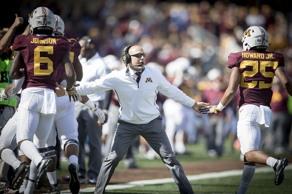 P.J. Fleck has switched to a slower pace for training camp.