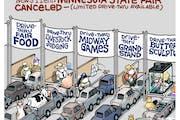 Sack cartoon: The Great Minnesota drive-thru