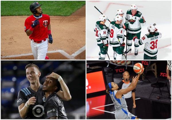 Minnesota teams are winning big in this weird sports restart