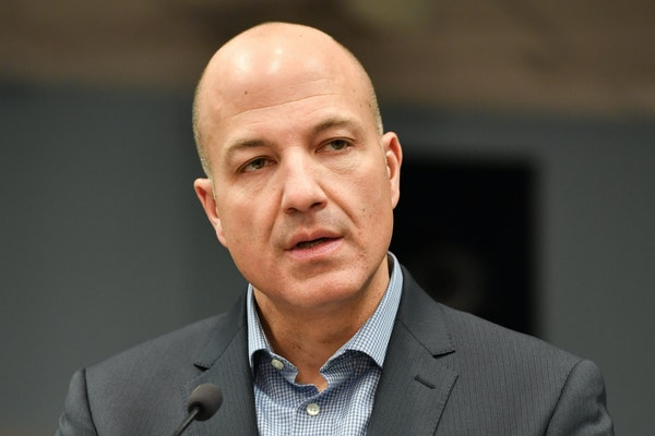 St. Paul Public Schools Superintendent Joe Gothard, pictured at a news conference in 2018, said that he did not believe the district was ready to reop