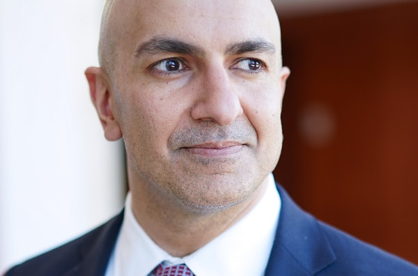 Minneapolis Federal Reserve President Neel Kashkari, above, has joined the U's Michael Osterholm in calling for a lockdown of up to six weeks to allow