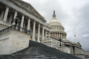 The U.S. Capitol in Washington on Friday. White House officials and Democrats blamed each other for the looming expiration by day's end of a $600 we