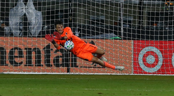 Minnesota United goalkeeper Tyler Miller is among the Loons players trying out a new look in Orlando.