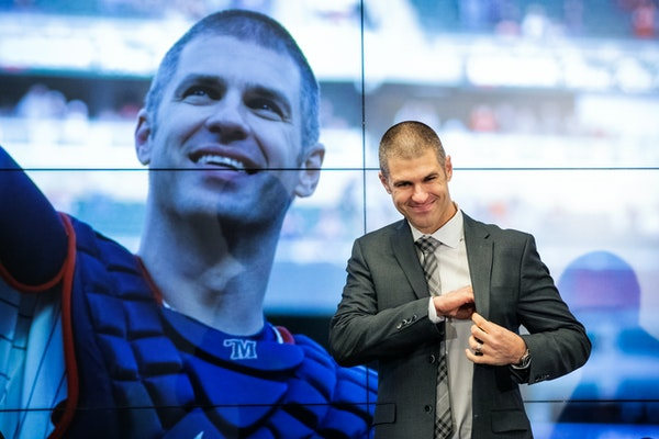 Emotional Mauer bids farewell but not goodbye to Twins