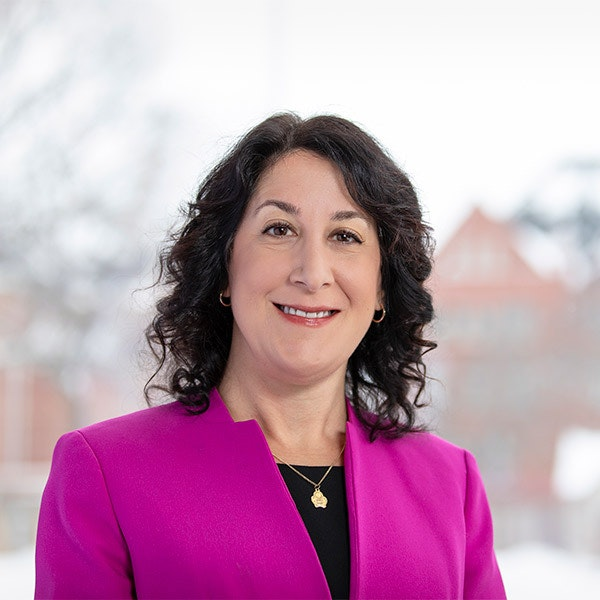 Macalester College President Suzanne Rivera. Photo credit: David J. Turner Photography