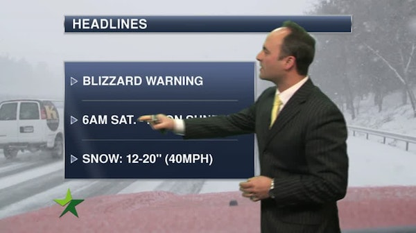 KEM: Blizzard warning for Duluth and North Shore this weekend