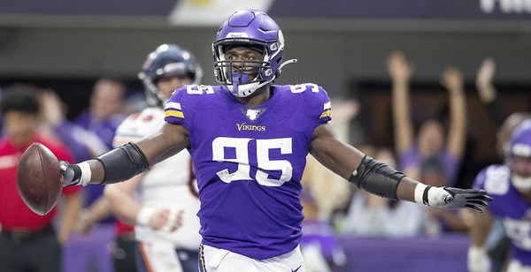 Defensive end Ifeadi Odenigbo worked on conditioning in the offseason in anticipation of playing more than twice as many snaps as a starter with the V