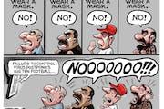 Sack cartoon: Consequences