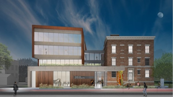 Construction begins this month on a four-story addition to thee Center for the Performing Arts in south Minneapolis.