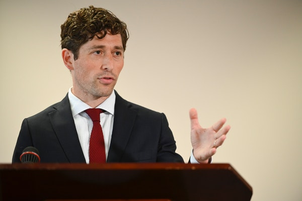 Minneapolis Mayor Jacob Frey's budget address was unlike those of recent years, providing only a high-level overview, while the specifics are expected