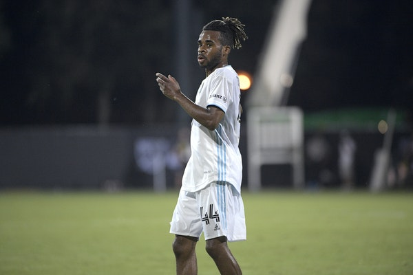 """Resuming MLS play """"has come back right around the corner, as soon as we got home,''Minnesota United forward Raheem Edwards said. """"It's excit"""