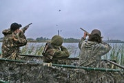 Theories abound on how Canada's closed border will affect duck hunting this year. People seem to be in agreement that thousands of Americans will tr