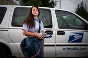 U.S. Postal Service mail carrier Angela Hardy's employer consistently ranks as Americans' favorite government agency.