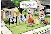 Sack cartoon: Maybe it's you