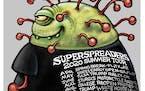 Sack cartoon: 2020 summer tour