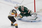 Stalock continues steady play in net to help Wild blank Golden Knights