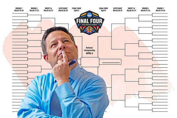 A life without Madness: Selection Sunday silent for ESPN's 'Joey Brackets'