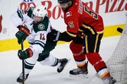 Wild back in action vs. Flames after sitting idle for three days