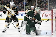 Playoff push? Wild returns from break with ugly loss to Bruins