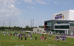 Notes from camp: Vikings try out game situations