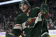 Foligno plays well upon his return to Wild lineup after an injury
