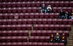 Gophers sports limit fan attendance at upcoming home events