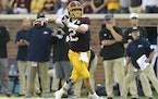 Souhan: Development of Morgan at QB is promising sign for Gophers' future