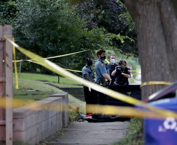 A shooting death early Thursday has investigators on the scene on the East Side of St. Paul. The killing occurred in the 800 block of E. Cook Avenue,