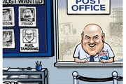 Sack cartoon: America's most wanted