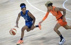 Lynx guard Crystal Dangerfield is WNBA rookie of the month