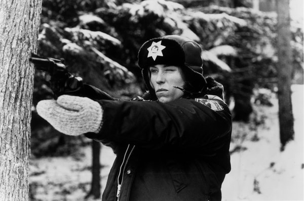 """Frances McDormand in her first Oscar-winning role, as Marge Gunderson in the 1996 movie """"Fargo."""""""