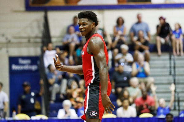 Mock draft consensus on Wolves top overall pick: Georgia's Edwards