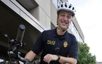 CORRECTS BYLINE TO BRIAN PASSINO INSTEAD OF JOHN SLOCA - Kenosha Police officer Rusten Sheskey poses for a photo in 2019 in Wisconsin. State authoriti