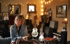 """Molly Maher at home. ] JEFF WHEELER • Jeff.Wheeler@startribune.com Americana ace Molly Maher is releasing """"Follow"""" her first album in nine years thi"""