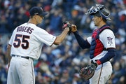 Reusse: Twins using Rogers wisely by using him whenever he's needed
