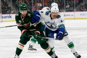 Wild facing lineup questions ahead of matinee vs. Canucks