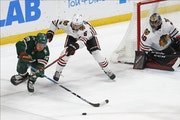 Players throughout the lineup step up in Wild's OT win over Blackhawks