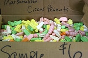 Lucky 7 Bear Bait supplies hunters with sweets rejected for human consumption.