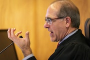 """Judge John Guthmann presided over a hearing in January about evidence regarding """"procedural irregularities'' in the PolyMet water permit case"""