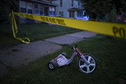 Minneapolis police investigated a shooting, with multiple victims, on Aug. 28 in north Minneapolis.