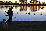 Gary Lunz walked to his southern Minnesota goose hunting blind Saturday morning, the opening day of the state's early honker season. It was his 74th