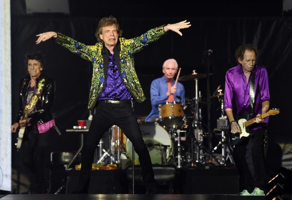 The Rolling Stones are among the many acts due in town next year after postponing in 2020.