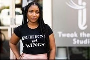 Tiwanna Jackson, owner of Tweak the Glam Studio on Lake Street, rebuilt and reopened on Lake Street. She held her belated grand opening in August. All