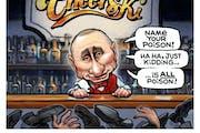 Sack cartoon: Name your poison