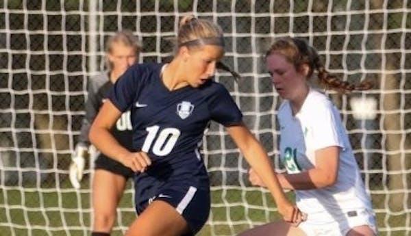 Blaine sophomore soccer standout Kendall Stadden