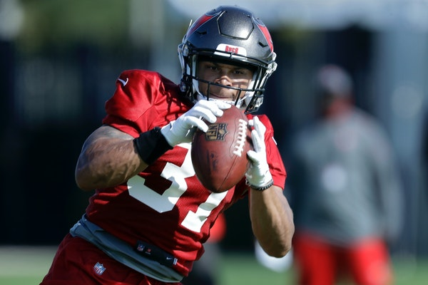 Former Gophers safety Antoine Winfield Jr., taken in the second round by the Bucs, is expected to debut Sunday against New Orleans.