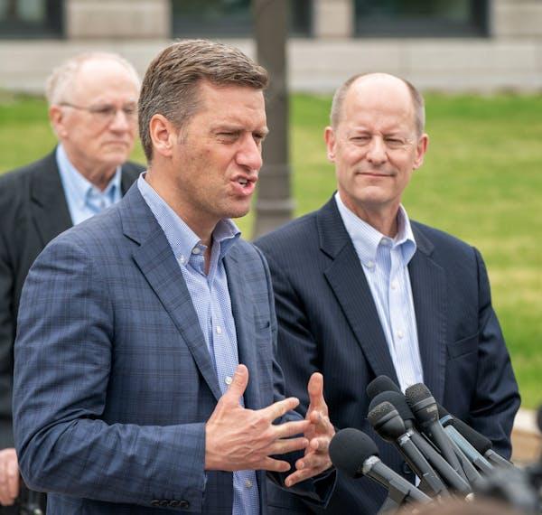 Gazelka, Daudt join Republican push to reverse Big Ten decision
