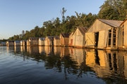 Catch a glimpse of history along Stuntz Bay Boathouse Historic District on Lake Vermilion in Breitung Township, Minn.